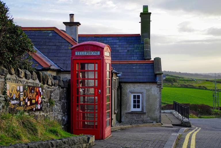 Telefooncel in Ierland