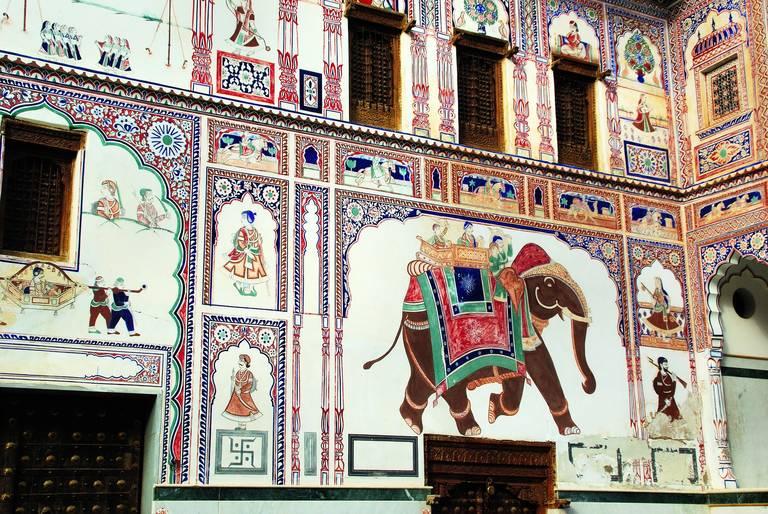 Fresco in Mandawa
