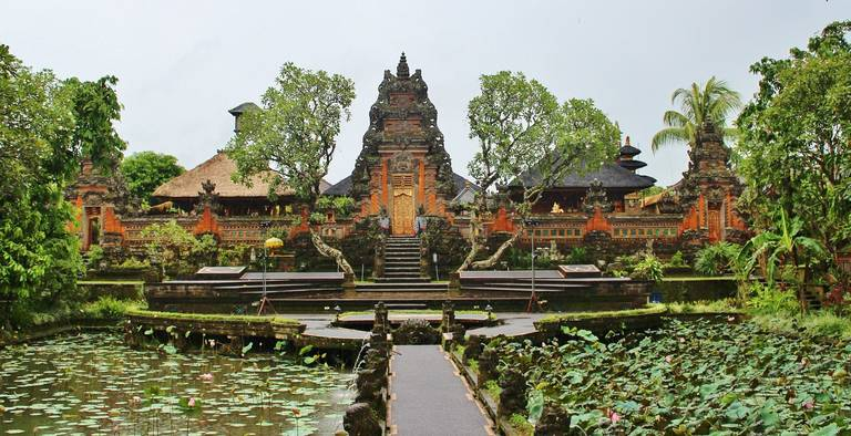 Tempelcomplex bij Ubud, Bali