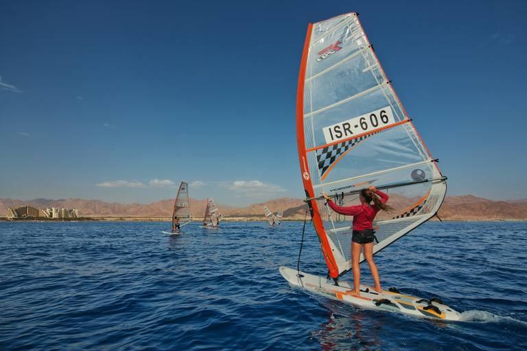 Windsurfen in Eilat