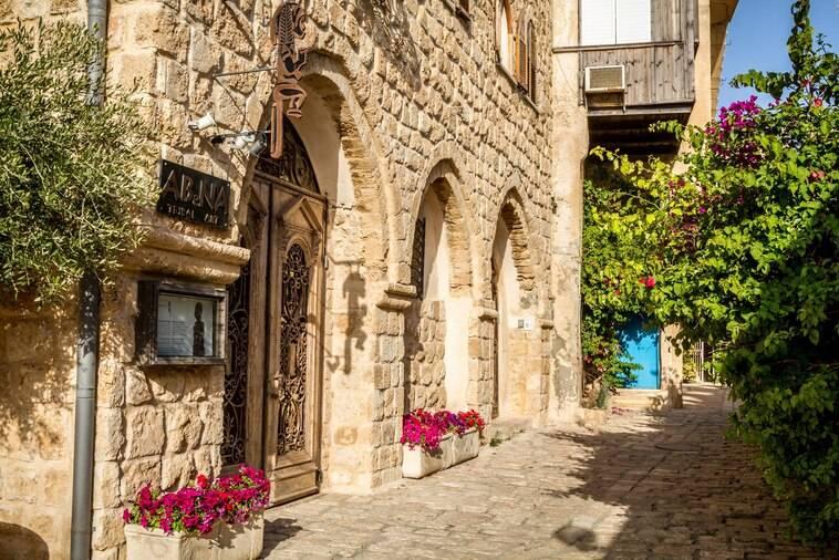 Oude stad van Tel Aviv