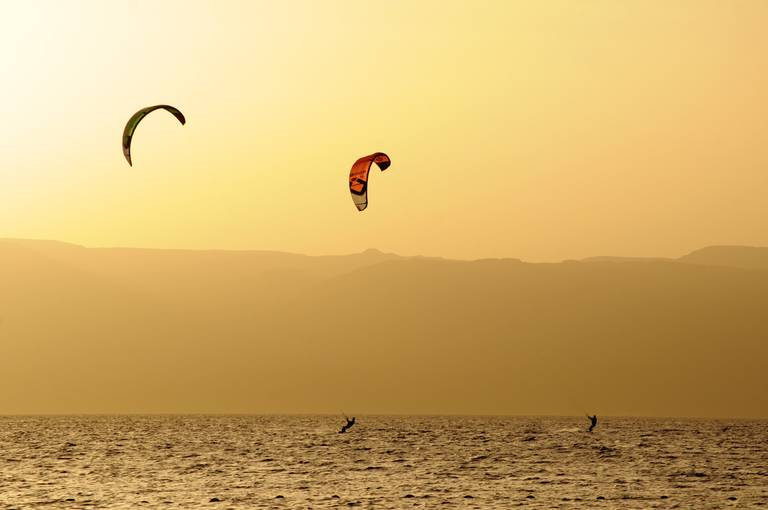 Windsurfen in Aqaba