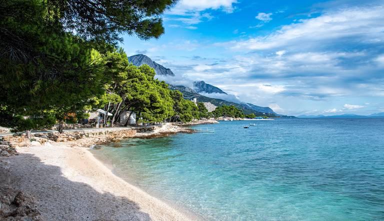 Strand van Makarska