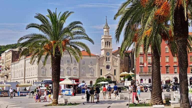 Historisch centrum van Split