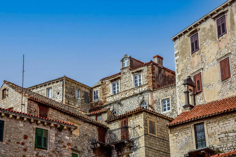 De gebouwen van Sibenik