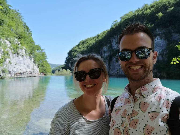 Bezoekers van Plitvice National Park meren
