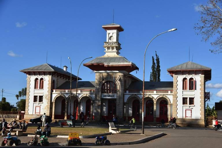 Treinstation in Antsirabe