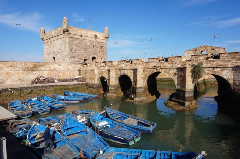 Boten in Essaouria