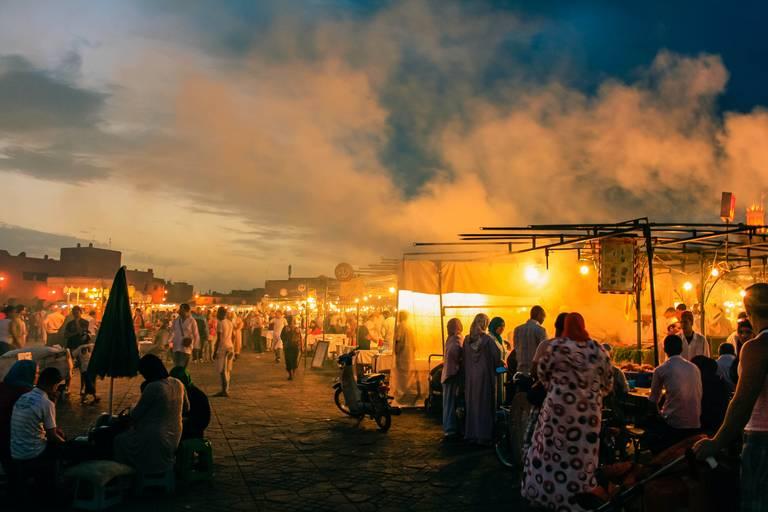 El Fna in Marrakech