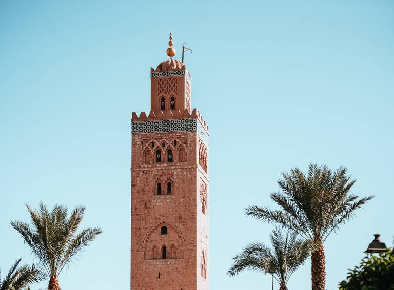Toren in Marrakech