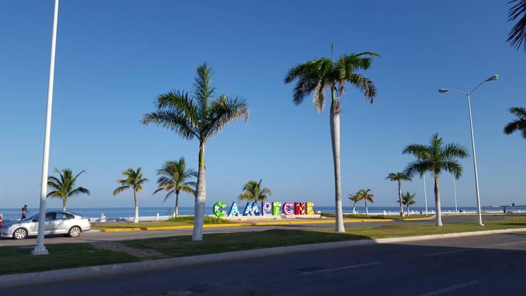 Boulevard in Campeche