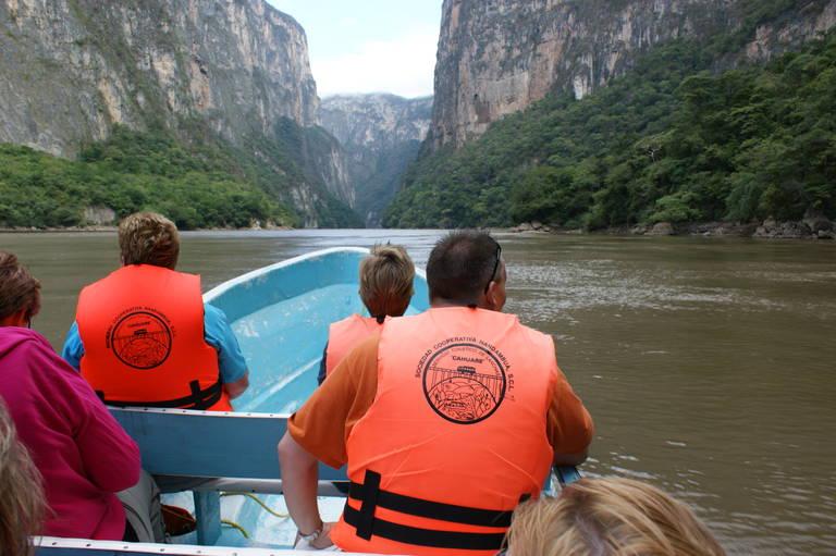 Boottocht door de Cañón del Sumidero