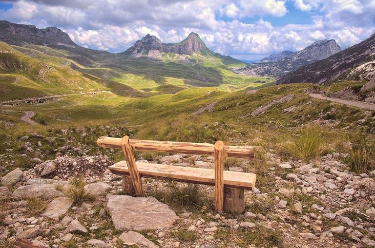 Durmitor National Park uitzicht