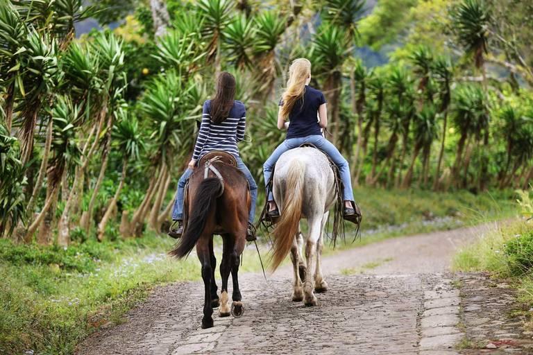 Paardrijden bij Matagalpa