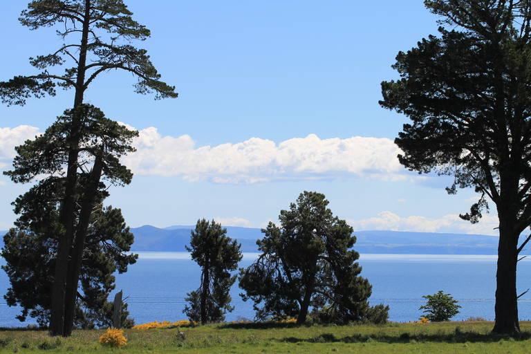 Uitzicht Lake Taupo