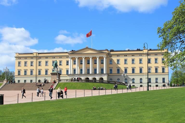 Noorwegen, Koninklijk Paleis in Oslo