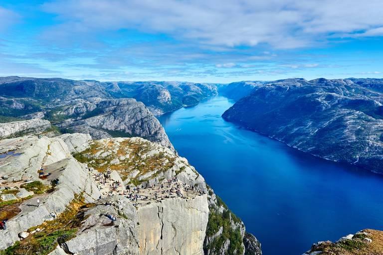 Uitzicht Beitostolen Fjord