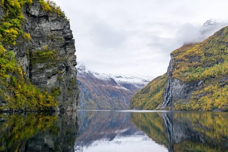 Rotsen Geiranger Fjord