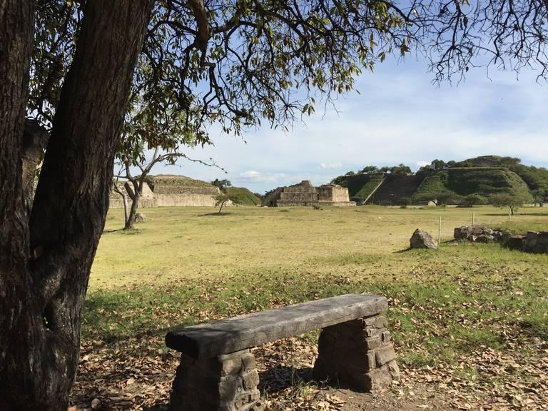 Monte Albán, voormalige hoofdstad Zapoteken