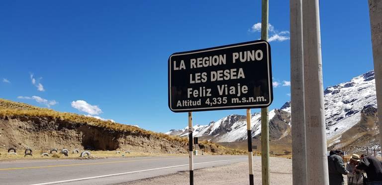 Goede reis in Puno