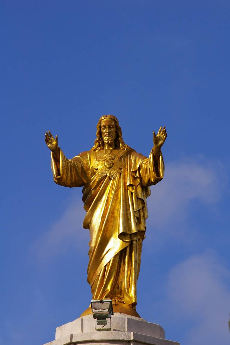 Standbeeld in Fatima