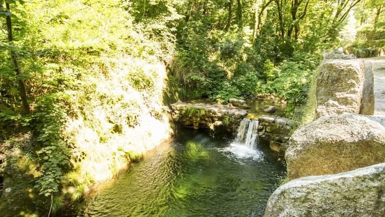 Waterval Termas in Peneda Geres