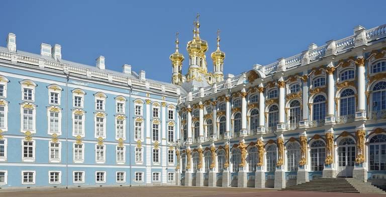 Catharina's Paleis in St. Petersburg