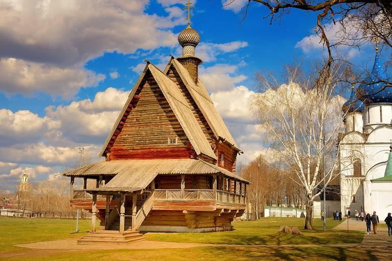 Houten kerk in Soezdal