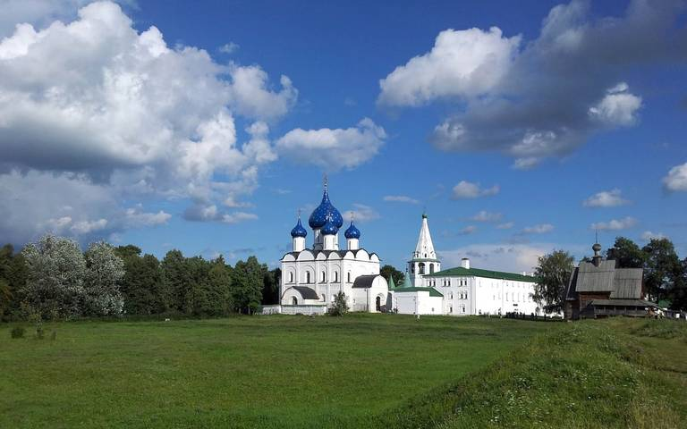 Kremlin kerk in Soezdal