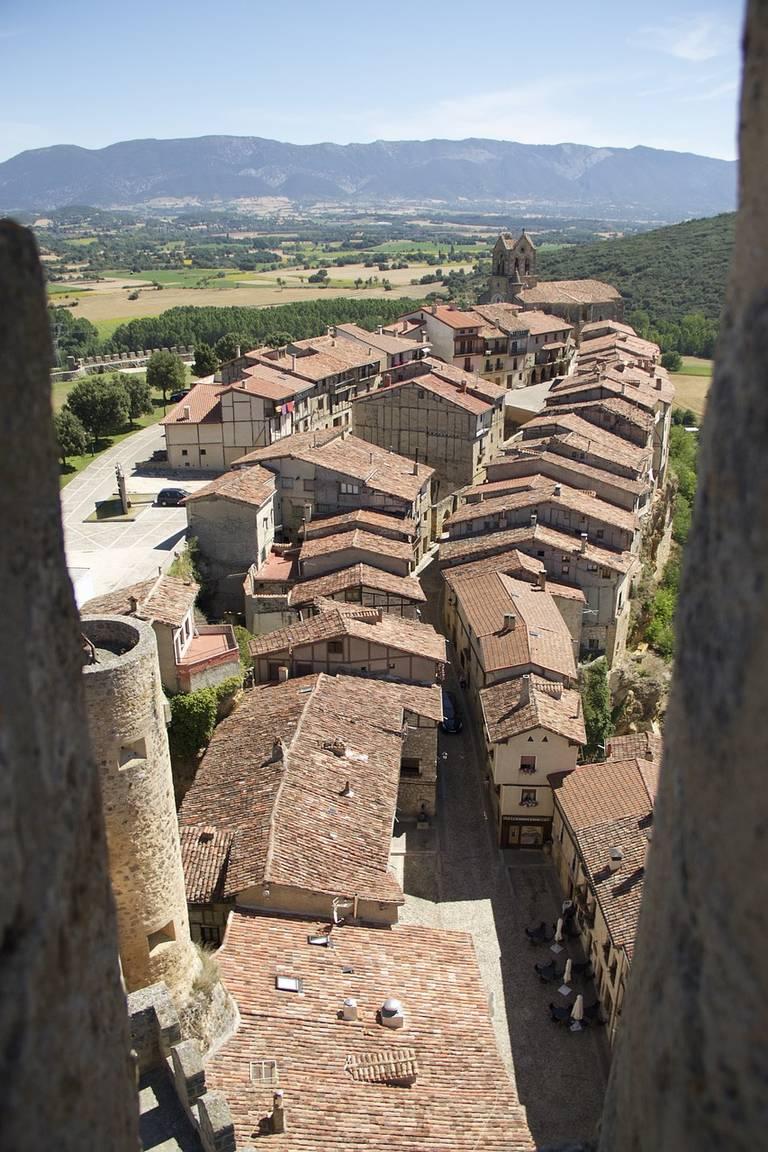Doorkijkje kasteel, Burgos