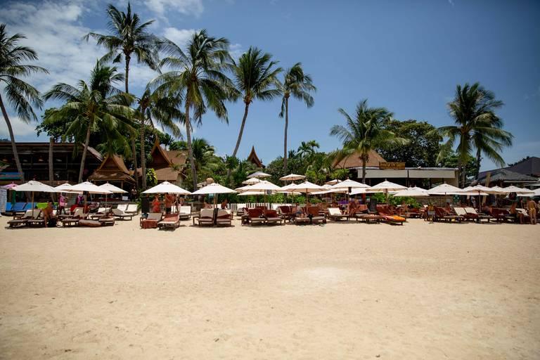Strand van Koh Samui