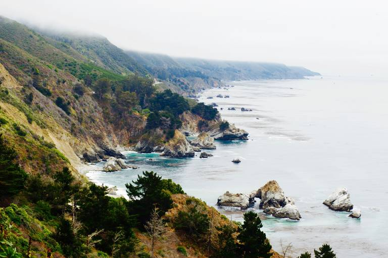 Highway 1 in Californië