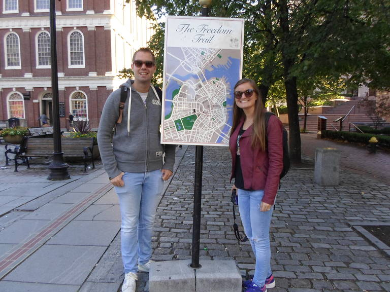 Wandeling The Freedom Trail, Boston