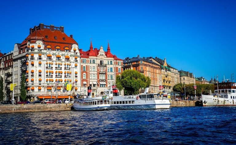 Oude stad van Stockholm