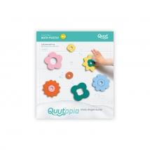 Quut παιχνίδι μπάνιου puzzle small - Λουλούδια QU171713