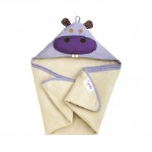 3 sprouts πετσέτα με κουκούλα - Hippo