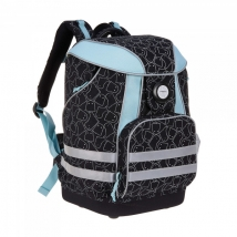 Lassig School Bag σχολική τσάντα - Spooky Black 1205002015