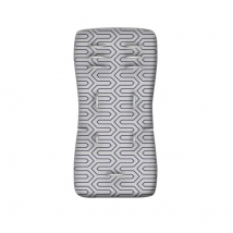 Greco Strom ένθετο καροτσιού - Grey 3D Fiber