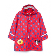 Playshoes αδιάβροχο, κορίτσι - 408569 red dots