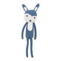 Sebra crochet χειροποίητο ζωάκι - Rabbit 3001113