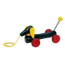 Brio ξύλινο pull toy Dachshund XL - XL 30334