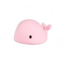FLOW. Φωτιστικό νυχτός Φάλαινα Moby mini - Ροζ