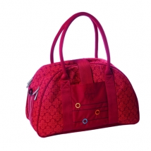 Lassig Shoulder bag τσάντα αλλαγής - Wallpaper Flaming
