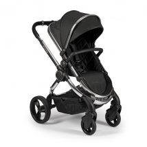 iCandy Peach 2020 παιδικό καρότσι - Chrome Black Twill