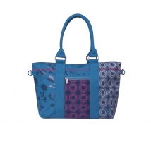 Lassig Shopper Bag τσάντα αλλαγής - Petrol