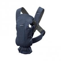BabyBjörn Mini μάρσιπος 3D Mesh - Navy blue 021008