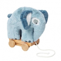 Sebra τροχήλατο ελεφαντάκι - Plush cloud blue 3001111