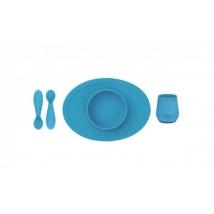 Ezpz εκπαιδευτικό σετ φαγητού - Blue