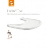 Stokke Tripp Trapp δίσκος - White