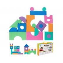 Playshoes EVA puzzle 96τμχ, χαλάκι απασχόλησης - 308760